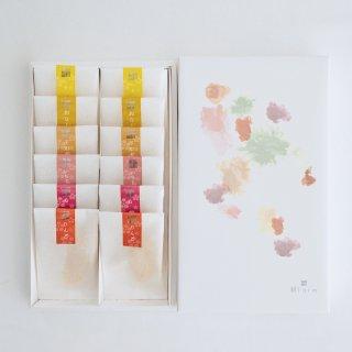 セミドライフルーツ6種ギフトBOX【国産フルーツ使用】12袋入 〜包装紙リニューアル〜