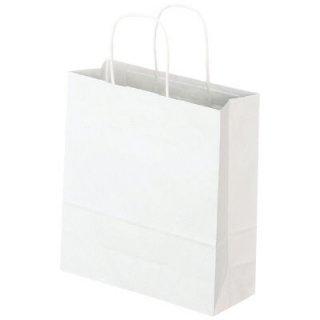 紙手提げ袋(白無地)