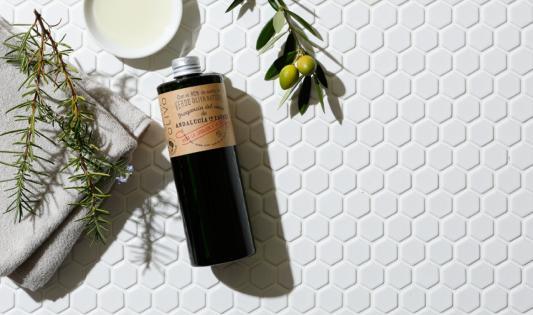 美容入浴剤 ローズウッド&ローズマリーの香り