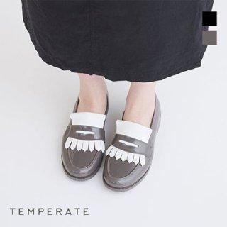 TEMPERATE / FRITZ <br>キルトタッセルレインローファー