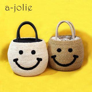 a-jolie / SI-1907 <br>スマイルバスケットバッグ
