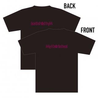 ネオンロゴTシャツ(黒)