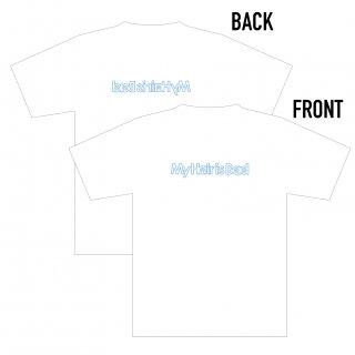 ネオンロゴTシャツ(白)