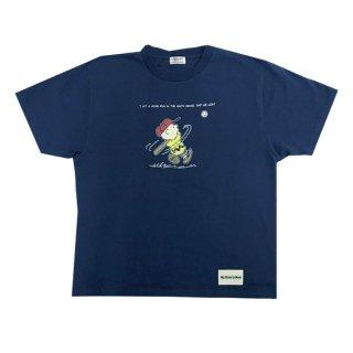 PEANUTSコラボTシャツ(ホームランネイビー)