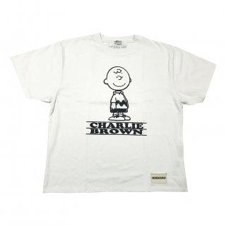 PEANUTSコラボTシャツ(チャーリー白)