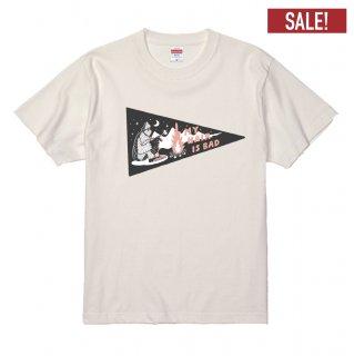 ペナントイエティTシャツ(白)