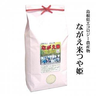 【白米】30年産 島根県エコロジー農産物「ながえ米つや姫」5kg(島根県松江市西長江町)