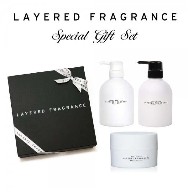 Fragrance Body Care Set|香り纏うボディケアセット