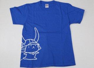 【限定】ひこにゃんTシャツ ブルー