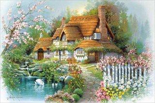 花香るせせらぎの庭