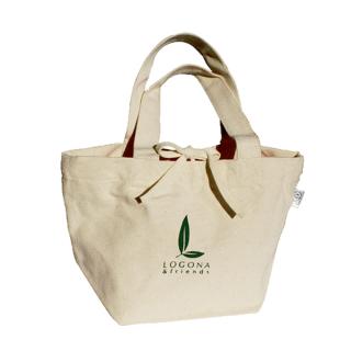 ご近所へのお買い物に、ランチに♪【LOGONA&friends オリジナル・ミニトートバッグ】ロゴナ&フレンズロゴ入りミニトート♪プレゼントにも喜ばれます。[ミニトート]