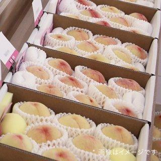 【ご家庭用:ワケあり品】岡山白桃 約2キロ 白箱