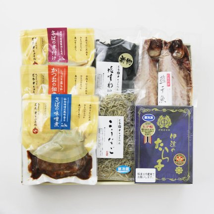 水産品詰め合わせ−�【冷凍品】