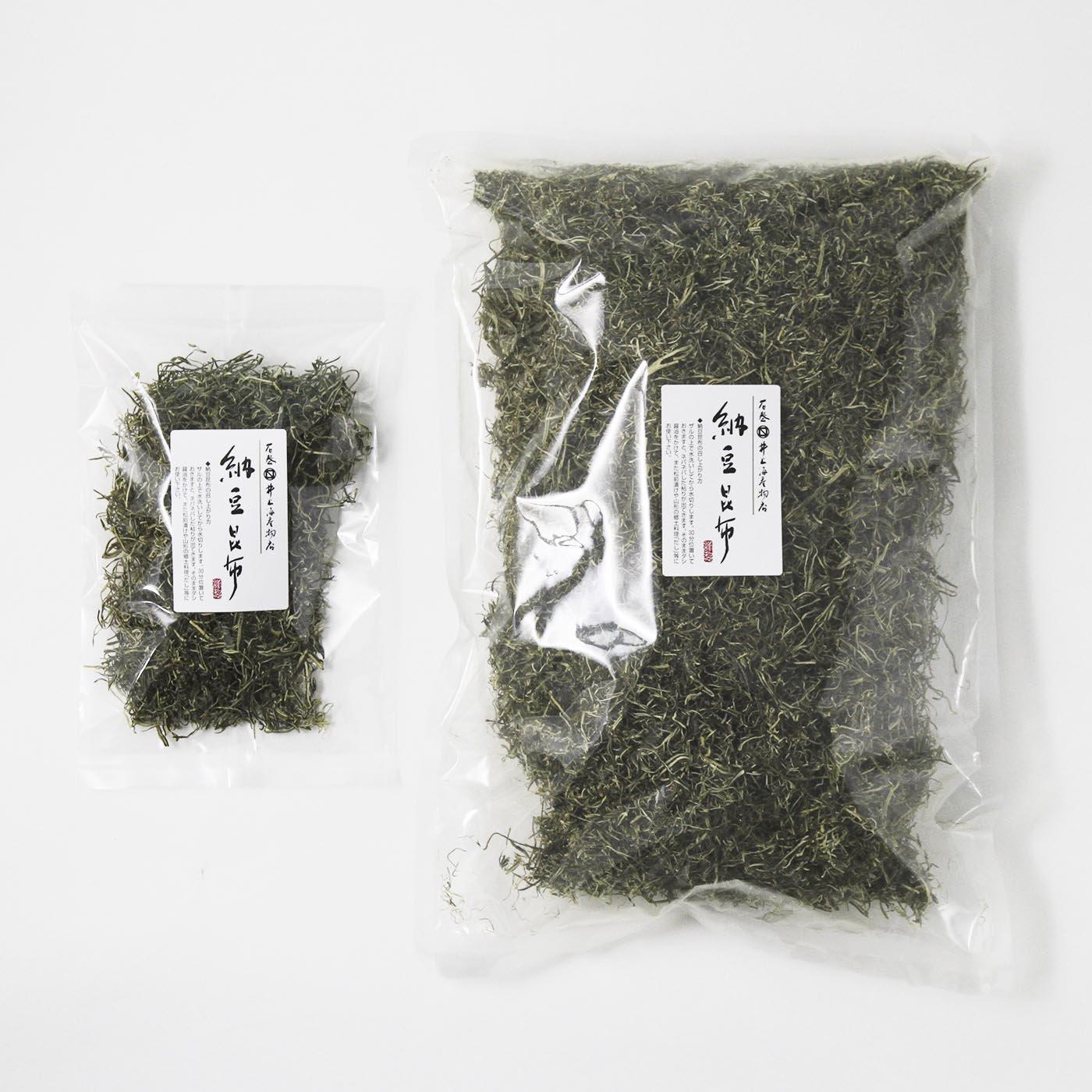 三陸産 納豆昆布 業務用 500g