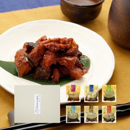 井上の煮魚 詰合せ 6袋入<span style='color:red;'>[送料無料]同梱可能</span>