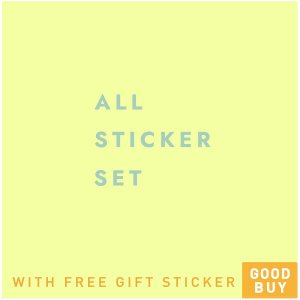 All Stickers with free gift