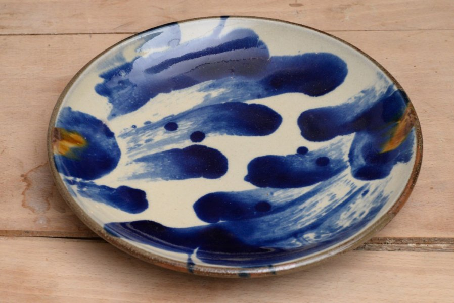 山田真萬 7寸皿