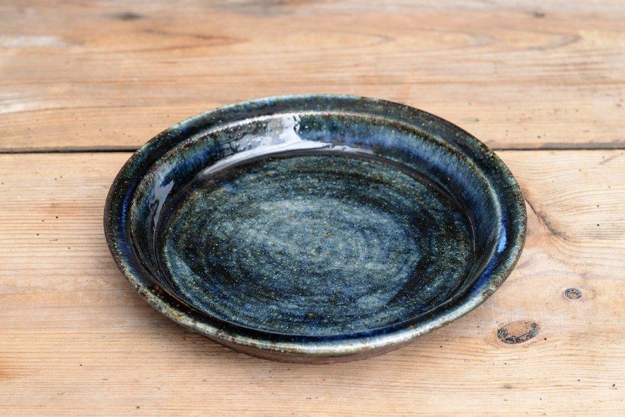 ソロソロ窯 7寸平皿