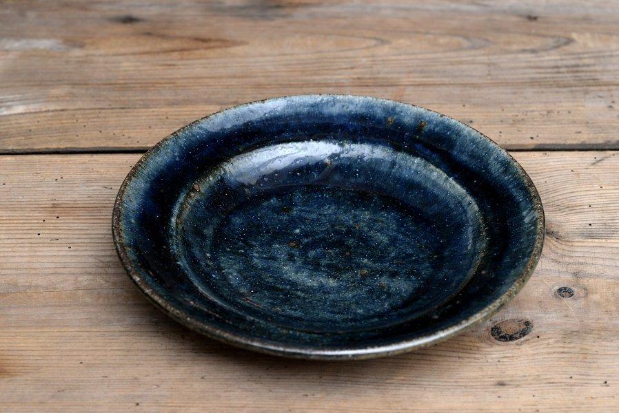 ソロソロ窯 7寸つば皿