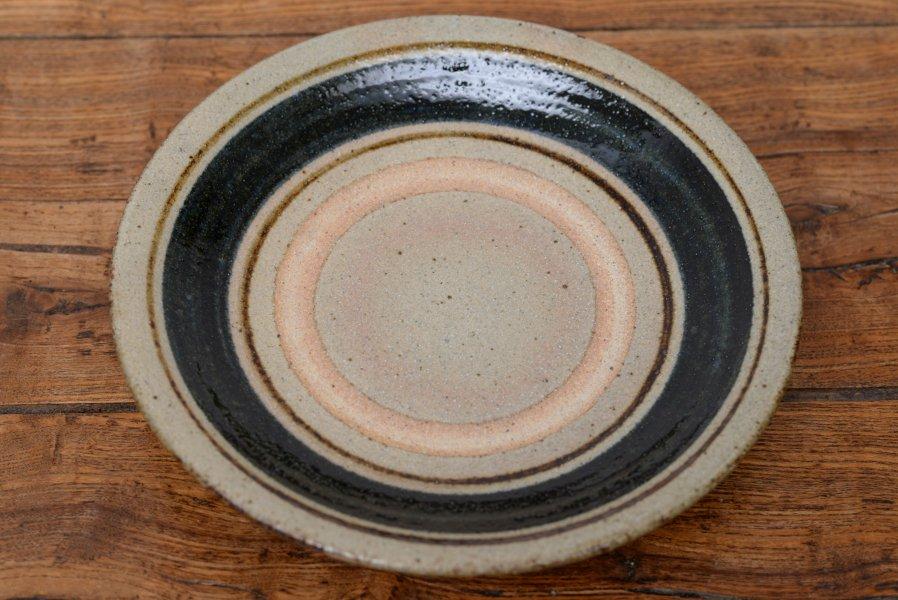 ソロソロ窯 8寸皿