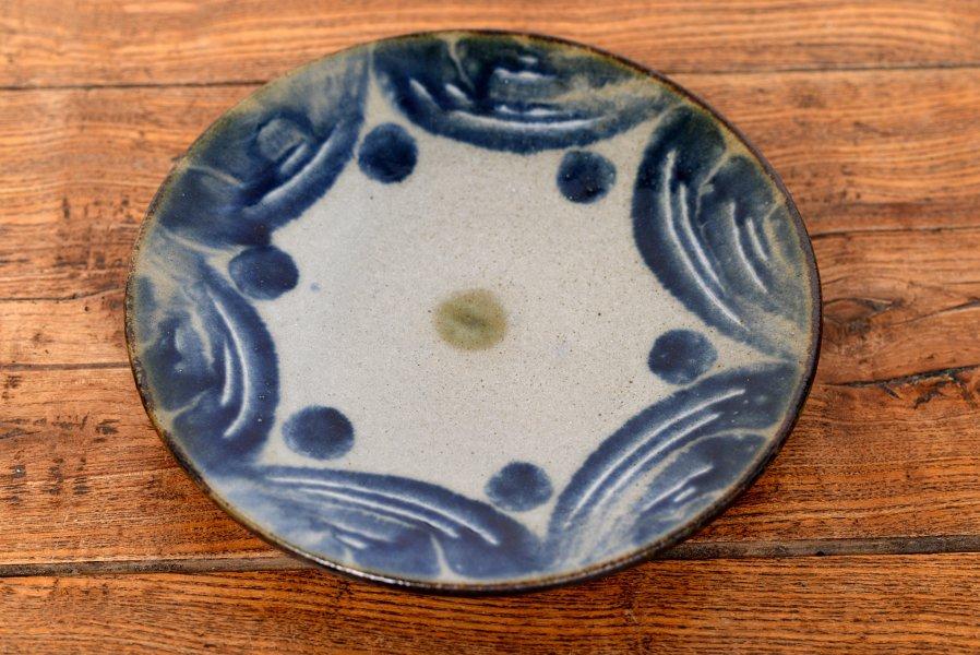 室生窯 7寸皿
