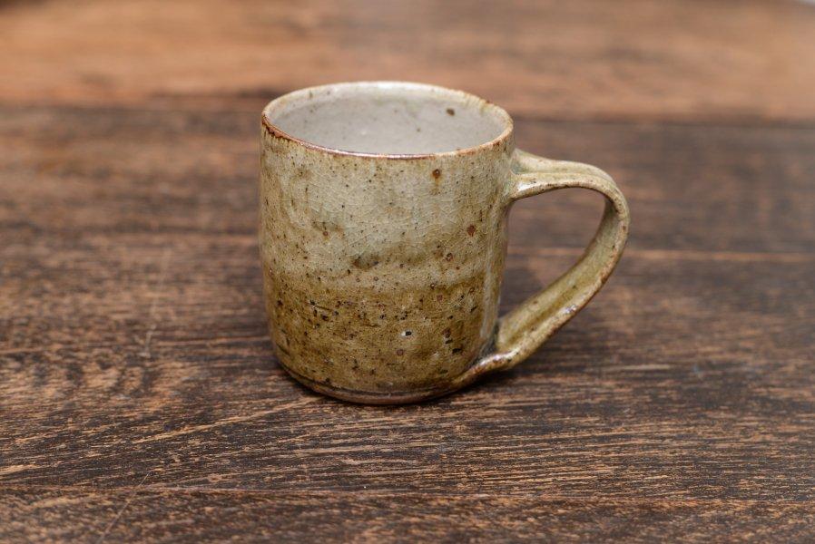 中嶋窯 マグカップ(大) ナラ灰釉