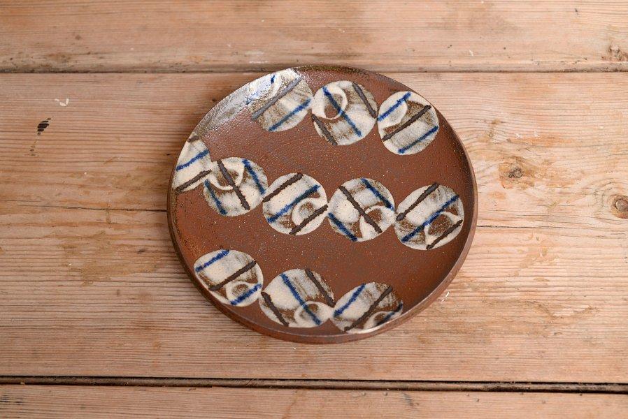 深貝工房 6寸皿