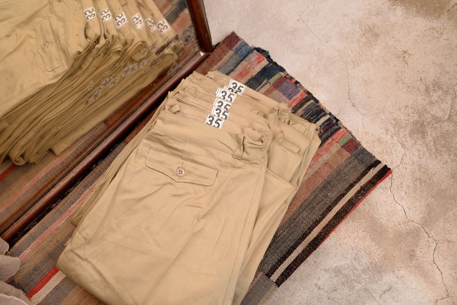 FRENCH ARMY M52 CHINO TROUSERS