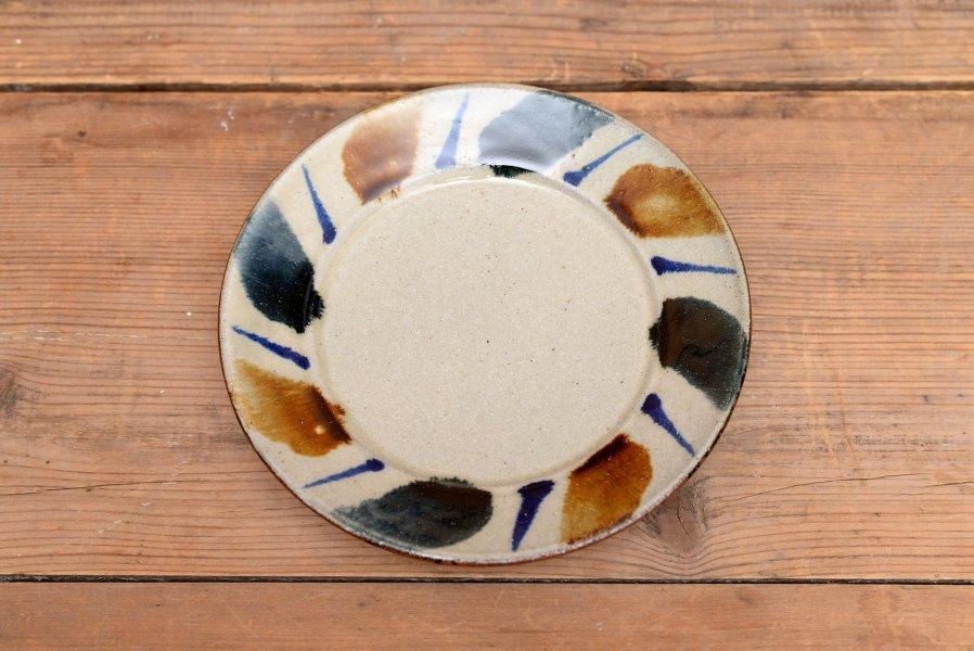 深貝工房 6寸リム皿
