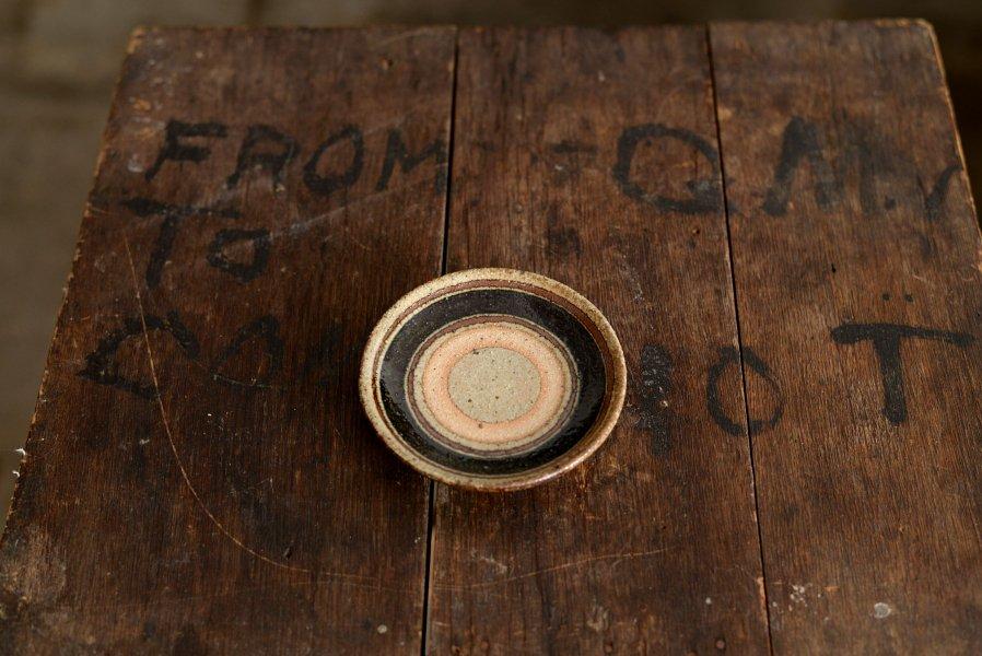 ソロソロ窯  3.5寸皿