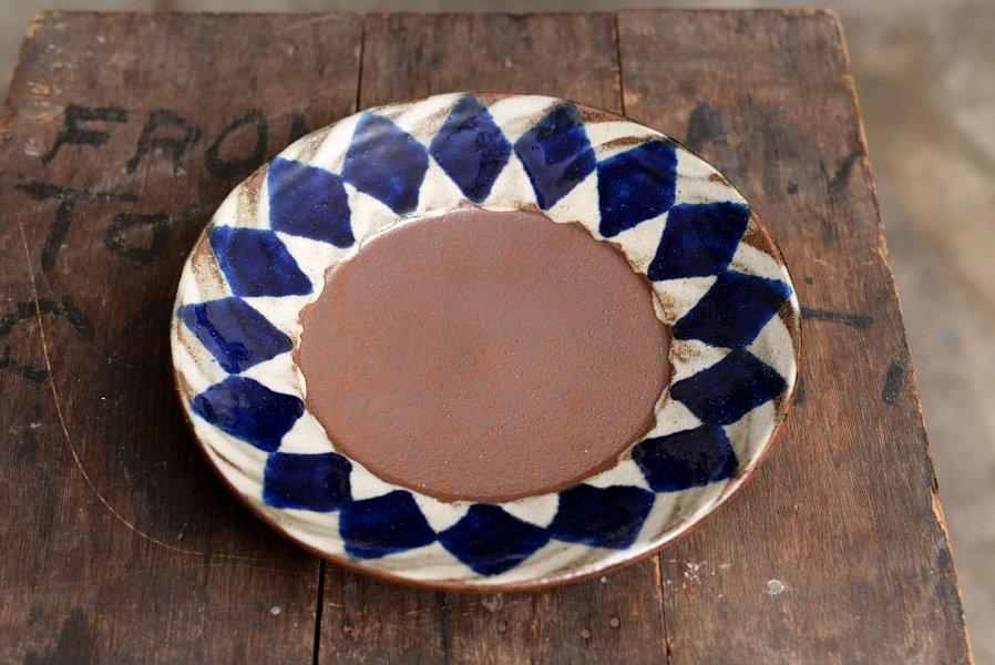 深貝工房 8寸リム皿