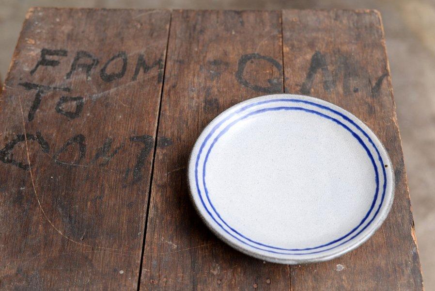 カミナリ窯 6寸皿