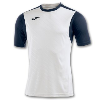 ゲームシャツ 「TORNEO II」 WHITE-NAVY BLUE