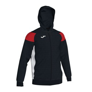 <img class='new_mark_img1' src='//img.shop-pro.jp/img/new/icons1.gif' style='border:none;display:inline;margin:0px;padding:0px;width:auto;' />JACKET HOODIE POLY 「CREW �」 BLACK RED WHITE
