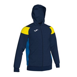 <img class='new_mark_img1' src='//img.shop-pro.jp/img/new/icons1.gif' style='border:none;display:inline;margin:0px;padding:0px;width:auto;' />JACKET HOODIE POLY 「CREW �」 NAVY YELLOW ROYAL