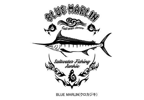 BLAZE FISHER フィッシング長袖Tシャツ / シャープなタッチで人気の釣り魚をクールにデザイン、10魚種から選べる!