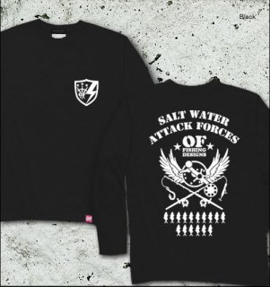 S.W.A.F バックプリント長袖Tシャツ