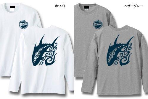 RIGZ ver.2 フィッシング長袖Tシャツ / クールなトライバル柄で、人気の釣り魚やフィッシングギアをデザイン、12種類から選べる!