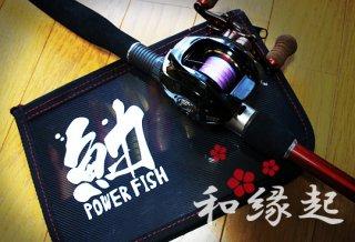 和縁起 フィッシングカッティングステッカー / 魚へんに様々な漢字を組み合わせた、独特の和テイスト釣りデザイン、8種類から選べる!