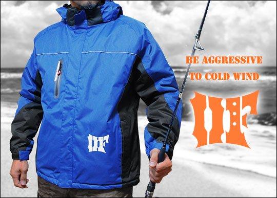 トライバルフォース 防水防寒フィッシングジャケット/M〜LL / 耐水圧7000mmの撥水生地と、保温性バツグンの中綿入り高機能ジャケット!