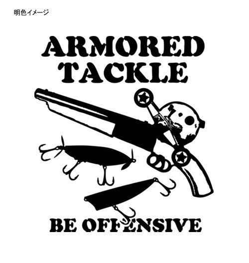 ARMORED TACKLE バスフィッシングTシャツ / バスフィッシングの世界を、アウトローなイメージでデザイン!