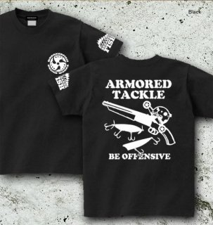 <img class='new_mark_img1' src='//img.shop-pro.jp/img/new/icons5.gif' style='border:none;display:inline;margin:0px;padding:0px;width:auto;' />ARMORED TACKLE バックプリントTシャツ / バスフィッシングの世界を、アウトローなイメージでデザイン!