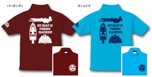 BASS BOAT バスフィッシングポロシャツ / バスボートをシンプル&スタイリッシュにデザイン!