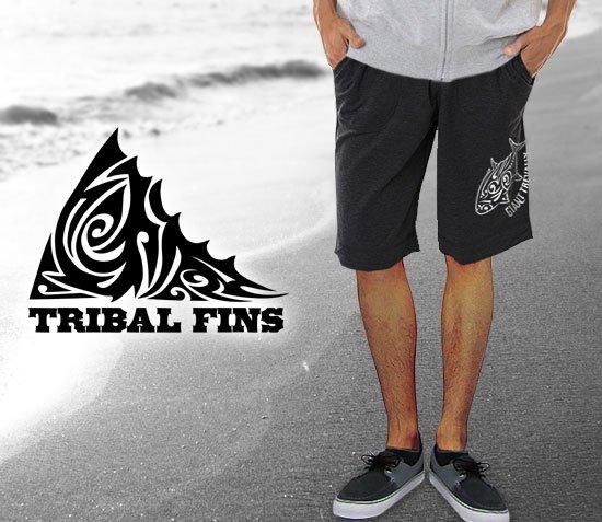 TRIBAL FINS ver.2 ダブルプリント フィッシングハーフパンツ / トライバルで人気の釣り魚をデザイン、前後にプリントしたシンプル&スタイリッシュ仕様。15種類から選べる!