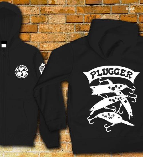PLUGGER バスフィッシングパーカー / バスフィッシングのルアーを、シンプル&スタイリッシュにデザイン!