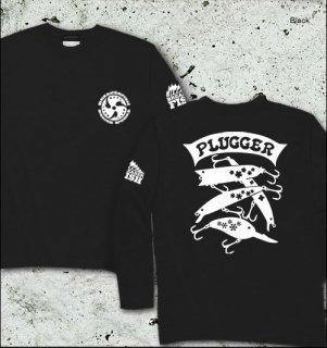 PLUGGER バスフィッシング長袖Tシャツ / バスフィッシングのルアーを、シンプル&スタイリッシュにデザイン!