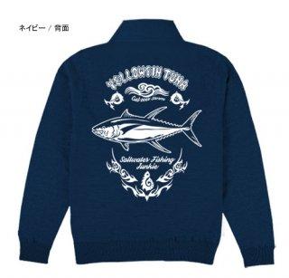 <img class='new_mark_img1' src='https://img.shop-pro.jp/img/new/icons34.gif' style='border:none;display:inline;margin:0px;padding:0px;width:auto;' />BLAZE FISHER フィッシング トラックジャケット / シャープなタッチで人気の釣り魚をクールにデザイン、10魚種から選べる!