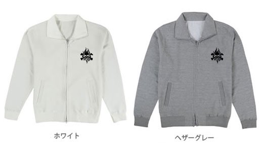BAIT BROS フィッシング トラックジャケット /  コミカルなストリートファッション風にルアーをデザイン、6種類から選べる!