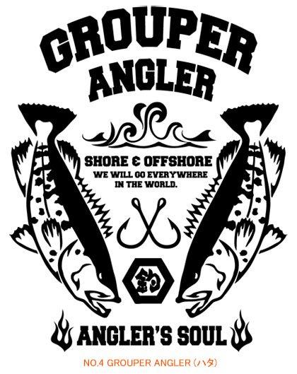 ANGLER'S SOUL フィッシングTシャツ / スタイリッシュさを追及したクール&カジュアルなデザイン。10種類から選べる!