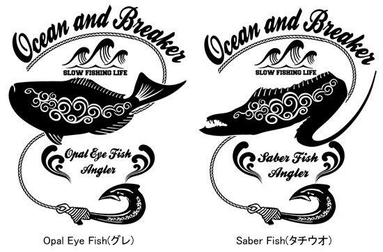 Ocean and Breaker フィッシング スウィングトップ / タフなウェザークロス素材を使用、武骨なルックスで、スタイリッシュなバックプリント スウィングトップ!!